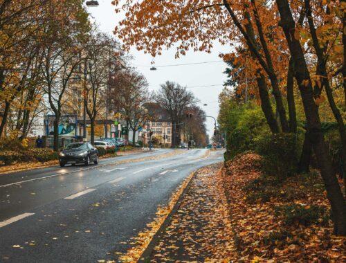 Straße Frankfurter Berg